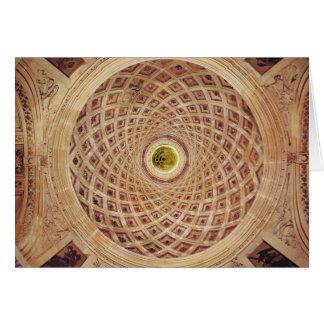 Cartes Vue intérieure de la coupole dans la chapelle