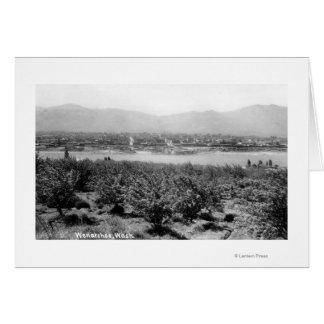 Cartes Wenatchee, WashingtonView de la rivière et