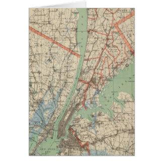 Cartes Westchester Co et environs