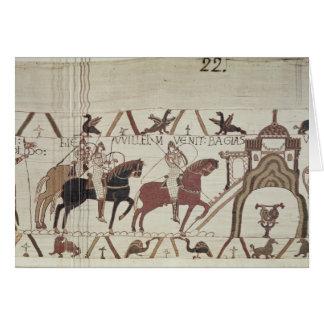 Cartes William le conquérant arrive à Bayeux