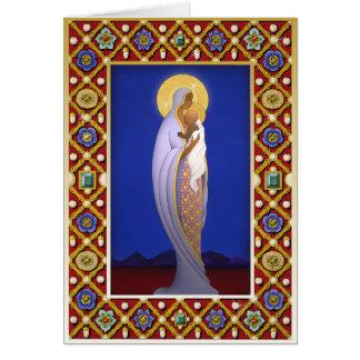 Cartes X006 Madonna orné de bijoux