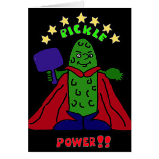 Cartes XX bande dessinée de Pickleball de super héros de