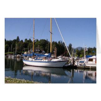 Cartes Yacht blanc