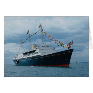 "Cartes Yacht royal britannique ""Britannia """