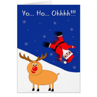 Cartes Yo Ho Père Noël