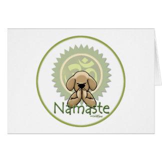 Cartes Yoga - Namaste