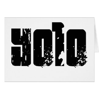 Cartes Yolo -- T-shirt