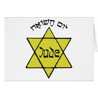 Cartes Yom Hashoah