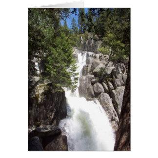 Cartes Yosemite dans le printemps :  Automnes de
