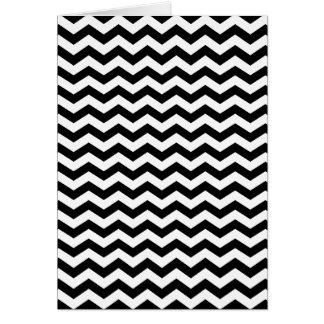 Cartes Zigzag blanc et noir