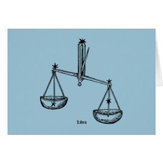 Cartes Zodiaque : Balance, 1482