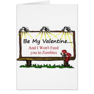Cartes Zombi Valentine