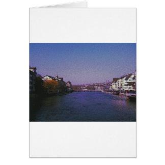 Cartes Zurich Suisse Digital art.