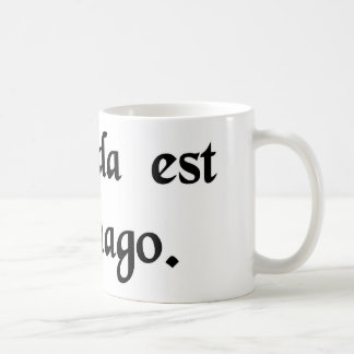 Carthage doit être détruite mug