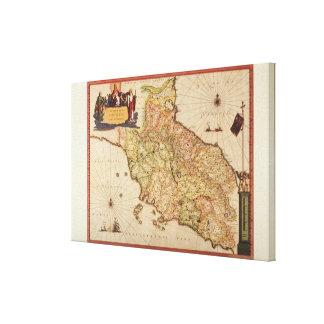Cartographie de la Renaissance Toiles