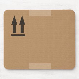 carton d'emballage tapis de souris