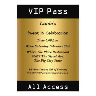 Faire-part et cartons d'invitation VIP