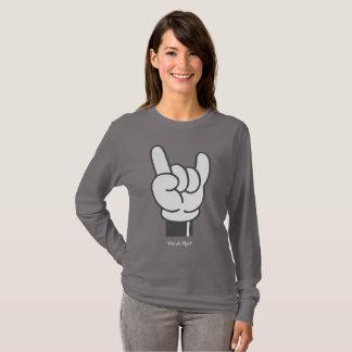 Cartoon Hand T-shirt