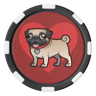 Cartoonize mon animal familier jetons de poker