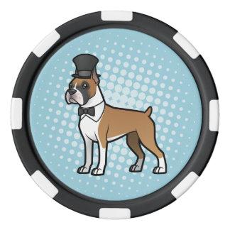 Cartoonize mon animal familier rouleau de jetons de poker
