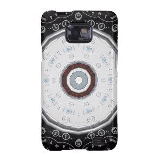 Cas à télécommande de téléphone de galaxie de Sams Étui Samsung Galaxy S2