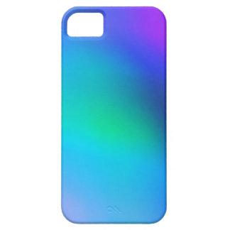 Cas abstrait de l'iphone 5 de menthe et de pourpre étuis iPhone 5
