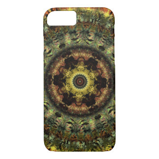 Cas africain de l'iPhone 7 de mandala de Coque iPhone 7