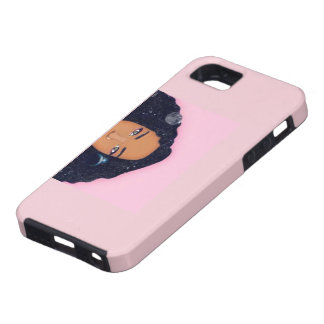 Cas africain rose coque tough iPhone 5