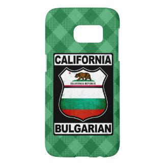 Cas américain bulgare de téléphone de la coque samsung galaxy s7
