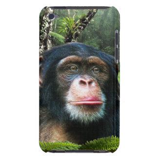 Cas animal de téléphone de faune de grande singe d coque barely there iPod