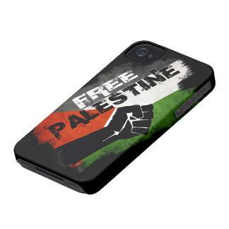Cas audacieux libre de la Palestine Blackberry Coque iPhone 4 Case-Mate