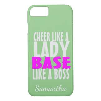 Cas bas de l'iphone 6 de pom-pom girl coque iPhone 7