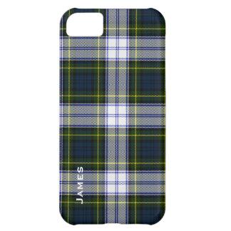 Cas beau de l'iPhone 5 de plaid de tartan de robe
