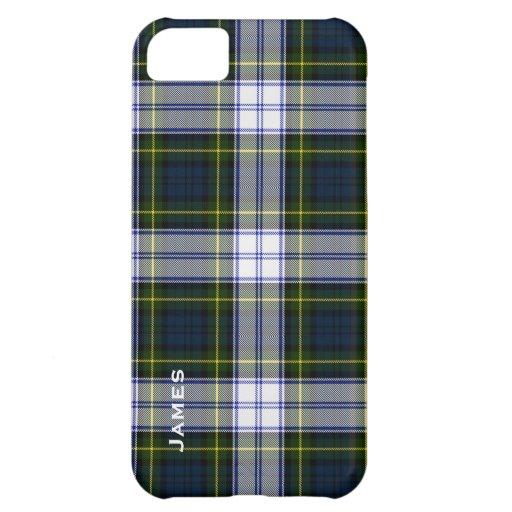 Cas beau de l'iPhone 5 de plaid de tartan de robe  Étuis iPhone 5C