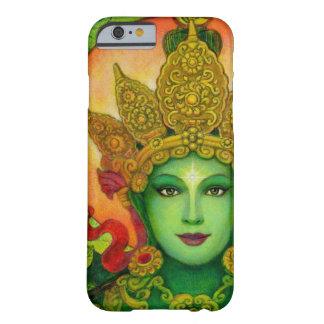 Cas bouddhiste de l'iPhone 6 Tara de vert de déess Coque iPhone 6 Barely There