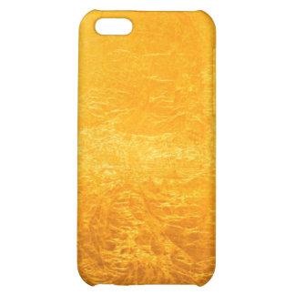 Cas brillant de l iphone 4 d or