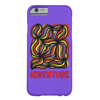 """Cas brillant de téléphone de """"aventure"""" coque iPhone 6 barely there"""
