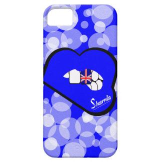 Cas BRITANNIQUE de téléphone portable des lèvres Étui iPhone 5