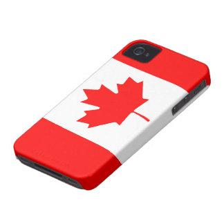 Cas canadien de l'iPhone 4/4S de drapeau Coques Case-Mate iPhone 4