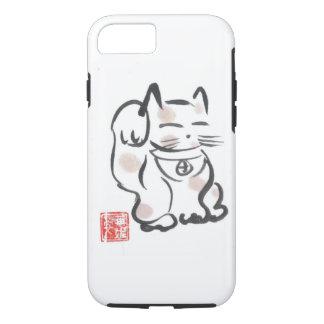 Cas chanceux de l'iPhone 7 de chat Coque iPhone 7