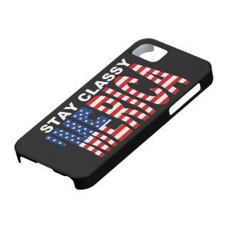 Cas chic de l'iPhone 5 de MERICA de séjour ' iPhone 5 Case