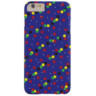 """Cas """"confettis de téléphone d'amusement """" coque iPhone 6 plus barely there"""