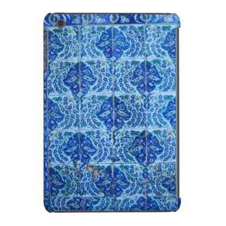 Cas d ipad d Iznik bleu mini Coques iPad Mini Retina