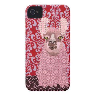 Cas d'amour de lama coques iPhone 4