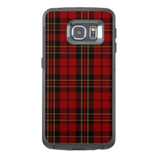 Cas de bord d'Otterbox Samsung S6 de plaid de clan
