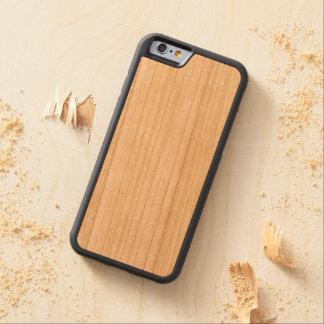 Cas de butoir en bois de l'iPhone 6/6s Coque iPhone 6 Bumper En Cerisier
