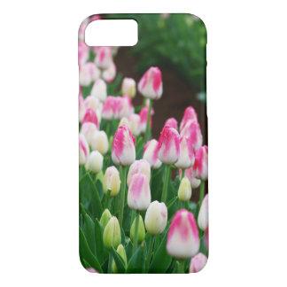 cas de champ de tulipe de l'iPhone 7 Coque iPhone 7