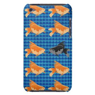 Cas de contact d IPod de moutons noirs de poisson Étuis Barely There iPod
