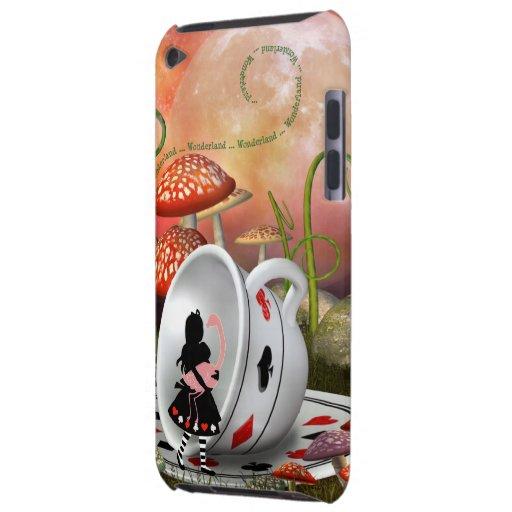 Cas de contact d'Alice d'iPod surréaliste de flama Étui iPod Touch