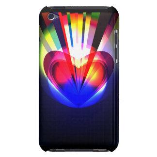 cas de contact d'iPod avec le coeur abstrait Coques iPod Case-Mate